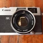 Canon Canonet QL17 New Canon Lens 40MM. F1.7
