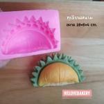 พิมพ์ยางซิลิโคน 3D ลาย พูทุเรียน ใหญ่มีหนาม