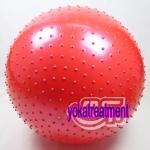 (พร้อมส่ง) YK1005 บอลโยคะ แบบหนาม ขนาด 75CM