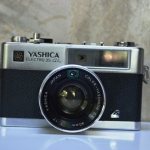 YASHICA ELECTRO35 GL YASHICA COLOR-YASHINON DX 40MM.F1.7