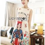 Anne Dreamy Fantasy Printed Dress