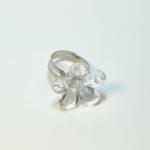 Plastic Flower Fancy Ring แหวนดอกไม้ RI005