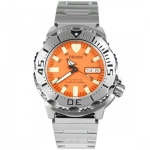 Seiko Monster Classic Men's Orange Automatic Dive Watch SKX781K1