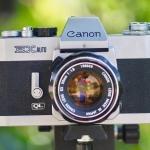 CANON EX AUTO QL CANON LENS EX 50MM.F1.8
