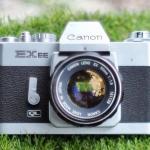 CANON EX EE QL CANON LENS EX 50MM. F1.8