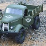 CA10 1/16 MILITARY 4X4 Truck รถการทหาร