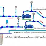 การติดตั้งปั๊มน้ำ 220v 2ตัวแบบขนาน เพื่อทดแทนปั๊มน้ำ380v ขนาดใหญ่1ตัว