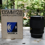 YASHICA LENS DSB 135MM.F2.8 TELEPHOTO CY MOUNT