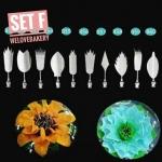 ชุดหัวเข็ม ทำ Jelly 3D เซท F (10 หัว พร้อมเข็ม)