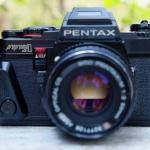 PENTAX PROGRAM A +SMC PENTAX-M 50MM.F2