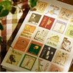 Le Petit Prince Sticker สติ๊กเกอร์วินเทจแบบแสตมป์ ชุดเจ้าชายน้อย