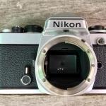 NIKON FE+Nikon MF-12