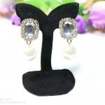 E149007 Diamond Earring ต่างหูเพชร