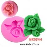พิมพ์ยางซิลิโคน 3D ลายดอกกหลาบ