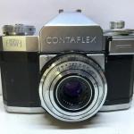 ZEISS IKON CONTAFLEX II CARL ZEISS TESSAR 45MM.F2.8