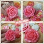 พิมพ์ยางซิลิโคน 3D ลายดอกกุหลาบ