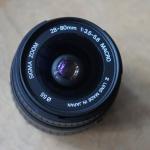 SIGMA ZOOM 28-80MM.F3.5-5.6 MACRO PK (AF)MOUNT