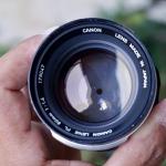 Canon Lens FL 50mm. F1.4 FL Mount
