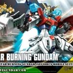 HGBF 1/144 STAR BURNING GUNDAM (Sei Iori's Mobile Suit)