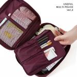 TB06 Multi Pouch ver 2 / กระเป๋าใส่เครื่องสำอางค์ หรือ ใส่ของพกติดกระเป๋า
