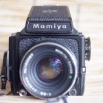 MAMIYA M645 1000S MAMIYA-SEKOR C 80MM. F2.8