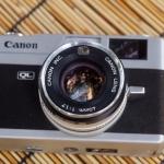 Canon Canonet QL17 New Canon Lens 40mm.F1.7