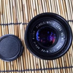 APS-C MICRO SINGLE/MOVIE LENS HD.MC 33MM. F1.6 C MOUNT