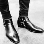 รองเท้าหนังSAINT LAURENT WYATT BOOTS 39-44