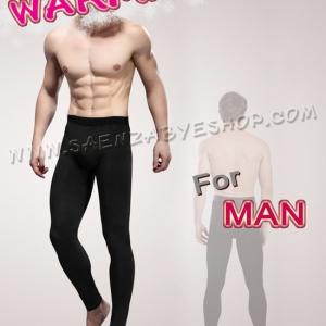 กางเกง กันหนาวชาย แบบหนา 2 ชั้น