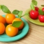พิมพ์ซิลิโคนลูกชุบ ลายส้มกลม 7 กรัม thumbnail 3