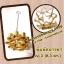 พิมพ์ขนมดอกจอก ทองเหลือง เบอร์ 3 ( 8.3 เซน) thumbnail 1