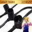 สายไฟพร้อมขั้วหลอดปิงปอง E27 (1 เมตร มี 3 ขั้ว) ( ราคา / 10เมตร) thumbnail 1