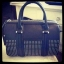 ZARA STRUCTURED BOWLING BAG WITH POCKET AND STUDS thumbnail 2