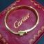 กำไล Cartier งานสวยมากก มีปั๊มลึก รุ่นนี้หมุนน็อตออกแล้วใส่เหมือนของแท้เป๊ะๆ ไม่ลอกไม่ดำ ราคา 1390฿ thumbnail 1