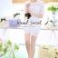 Ladies Sweetie Korea White Blouse thumbnail 4