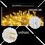 ไฟกระพริบ LED สีเหลือง ไฟประดับตกแต่ง ตามงานเทศกาลต่างๆ thumbnail 4