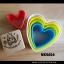 พิมพ์กดคุกกี้ ลายหัวใจ 5 ชิ้น (พลาสติก) thumbnail 1