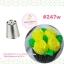 หัวบีบครีม Russian tip เกาหลี หน้ากว้าง 2.6 เซนติเมตร 13 หัว (แถมหัวใบไม้ 352+น็อตจัมโบ้+ถุงบีบพลาสติก5ใบ)) thumbnail 9