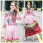 Ella Fancy Colourful Embellished and Printed Crepe Long Dress thumbnail 4