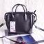 Zara Gussetted shopper bag ข้างในมีกระเป๋าแยกอีก 1 ใบ สายยาว119cm. ถอดได้ thumbnail 3