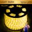 ไฟสายยาง ท่อกลม LED 100 m สีเหลือง thumbnail 1