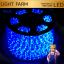 ไฟสายยาง ท่อกลม LED 100 m สีฟ้า thumbnail 1