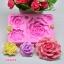 พิมพ์ยางซิลิโคน 3D ลาย ดอกกุหลาบ ดอกไม้รวม 5 แบบ thumbnail 1