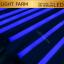 หลอดไฟงานวัด LED (ไฟนิ่งไม่กระพริบ) สีฟ้า / หลอดไฟ T8 หลอดสี thumbnail 1