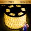 ไฟสายยาง ท่อกลม LED 100 m สีวอมไวท์ thumbnail 1