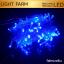 ไฟกระพริบ LED สีฟ้า ไฟประดับตกแต่ง ตามงานเทศกาลต่างๆ thumbnail 1