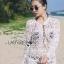 Naomi Beach Summer Style White Crochet Dress thumbnail 4