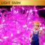 ไฟไม่กระพริบ LED สีชมพู ไฟประดับตกแต่ง thumbnail 8