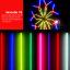 หลอดไฟงานวัด LED (ไฟนิ่งไม่กระพริบ) สีธงชาติ / หลอดไฟ T8 หลอดสี thumbnail 7