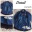 Jeans jacket female spring Korean lace long-sleeved shirt thumbnail 6